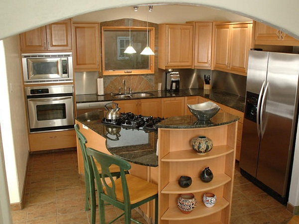 Design ideas for small kitchen kitchen clan for Very small kitchen designs