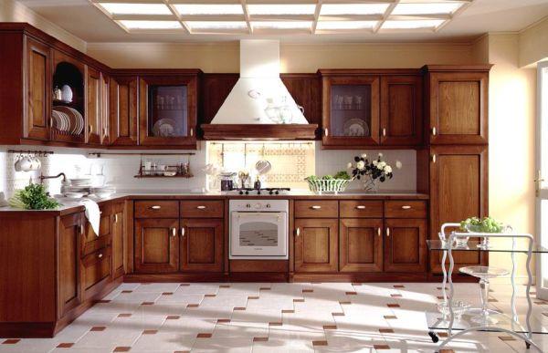 Designing a modern wood kitchen