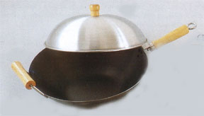 flat wok