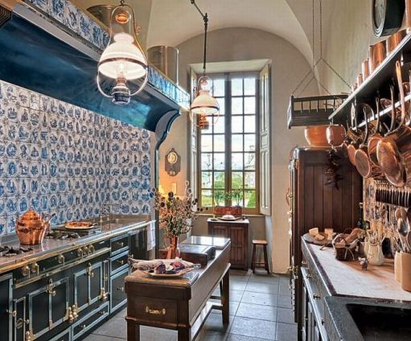 French Château-Inspired Kitchen