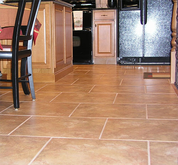 Kitchen flooring and design trends kitchen clan for Kitchen floor ideas