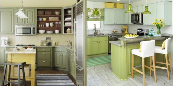Kitchen makeover ideas on a budget afreakatheart - Small kitchen ideas on a budget ...