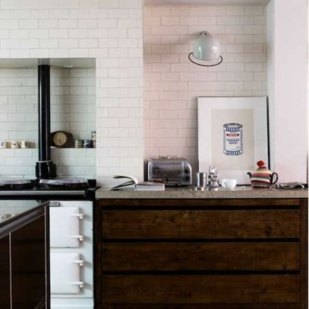 light up your kitchen with wall sconces