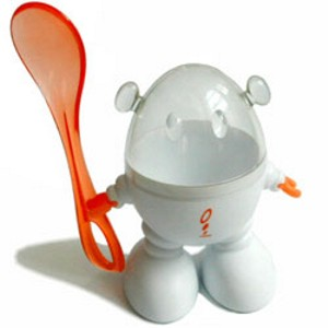 Countertop Egg Holder : Spice your breakfast with Robocup hardboiled egg holder - Kitchen Clan