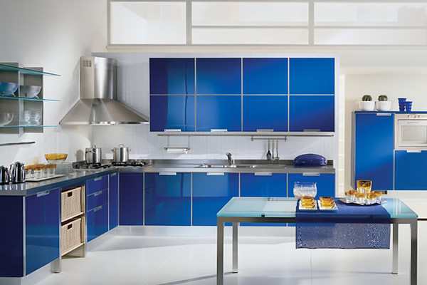 Simple but stylish kitchen