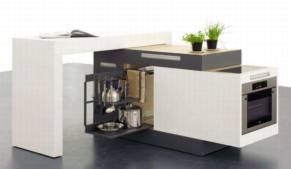 Small Modular Kitchen
