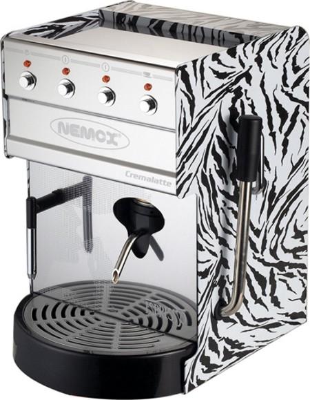 the cremalatte zebrata espresso coffee machine