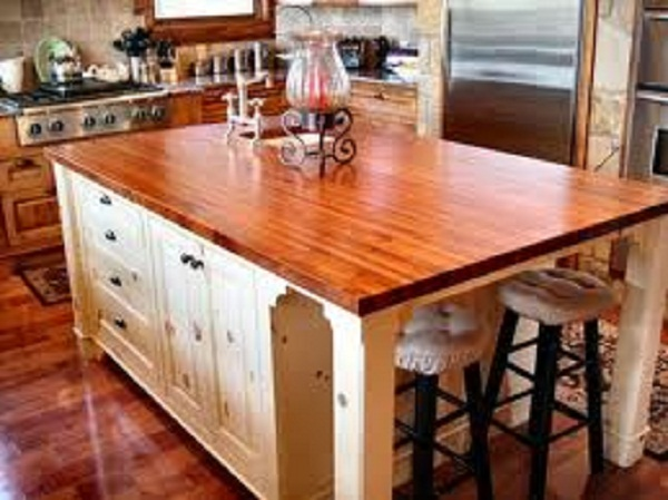 Wood or Butcher Block