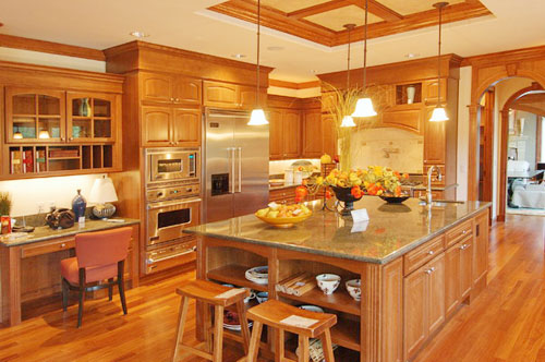 Make Your Kitchen Look Cozy And Elegant With Cabinet Decoration