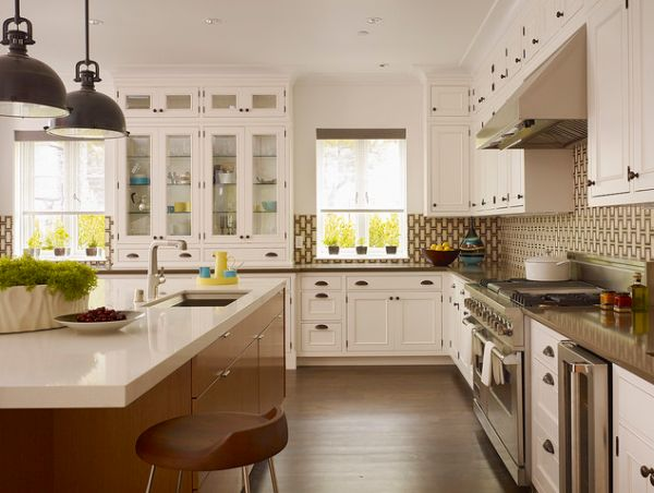 shaped kitchens have become quite popular l shape kitchens - L Shaped Kitchen Designs