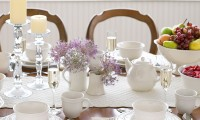 white-dinnerware