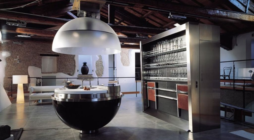 amazing-round-compact-kitchen-design-with-modern-features