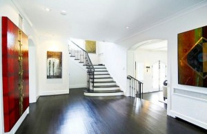 grand foyer washington dc home cococozy dark wood floors stairs iron railing