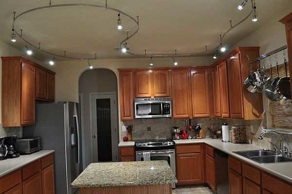 Give Your Kitchen A Trendy Look With Track Lighting Kitchen Clan