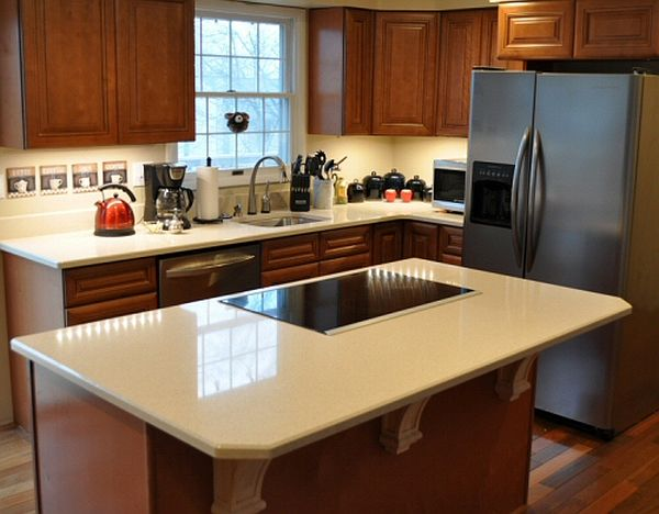Counter top kitchen island