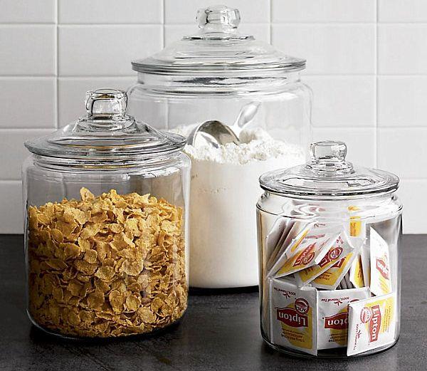 Glassware jars