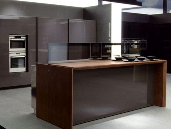 Automated kitchen island design by Ernestomeda