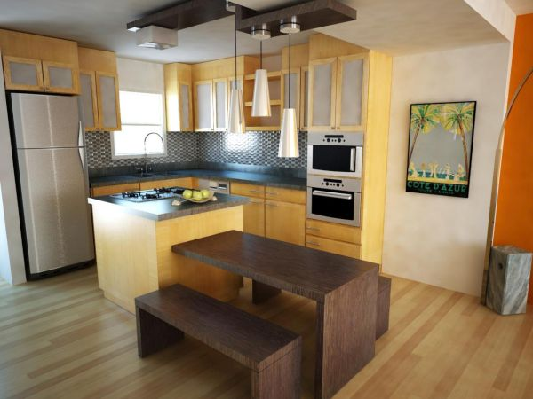 Maximize space in a small kitchen  (2)