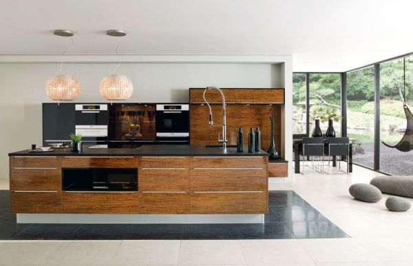 path of a modern kitchen (6)