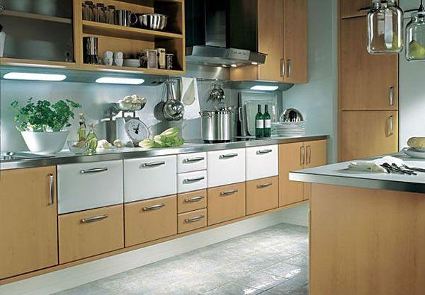 plastic-coated melamine cabinets (2)