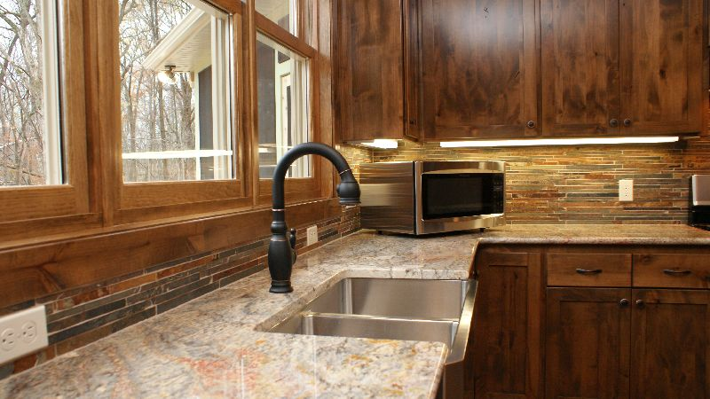 granite look to your kitchen
