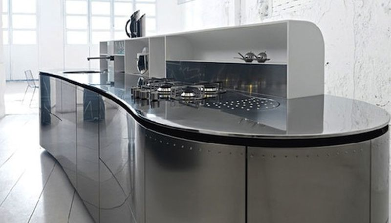 Alessandro Mendini kitchens