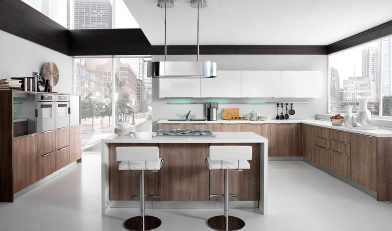 Contemporary laminate kitchen designs