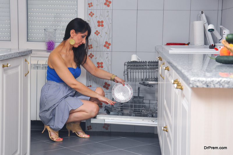 Using dishwashing