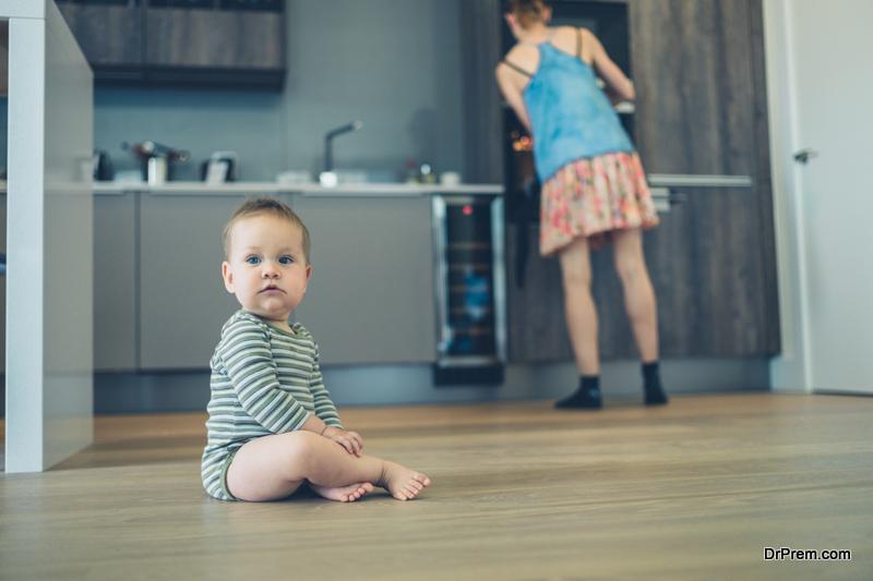 Have vinyl flooring